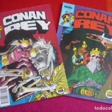 Cómics: CONAN REY NºS 62 Y 63 ( JAMES OWSLEY ISHERWOOD ) ¡BUEN ESTADO! FORUM MARVEL . Lote 121884539