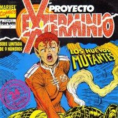 Cómics: PROYECTO EXTERMINIO (COLECCIÓN COMPLETA). Lote 121886511
