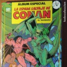 Cómics: LA ESPADA SALVAJE DE CONAN VOL1 DE FORUM RETAPADO CON 3 EXTRAS Nº74,75 Y 76. Lote 121912255