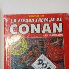 Cómics: LA ESPADA SALVAJE DE CONAN TOMO ROJO 21 EDICIÓN COLECCIONISTAS DE FORUM. Lote 121914867