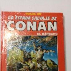 Cómics: LA ESPADA SALVAJE DE CONAN TOMO ROJO 23 EDICIÓN COLECCIONISTAS DE FORUM. Lote 121915207