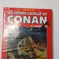 Cómics: LA ESPADA SALVAJE DE CONAN TOMO ROJO 26 EDICIÓN COLECCIONISTAS DE FORUM. Lote 121915771