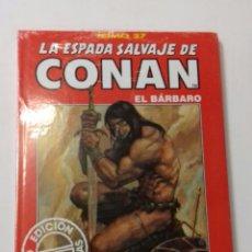 Cómics: LA ESPADA SALVAJE DE CONAN TOMO ROJO 27 EDICIÓN COLECCIONISTAS DE FORUM. Lote 121915995