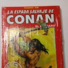 Cómics: LA ESPADA SALVAJE DE CONAN TOMO ROJO 28 EDICIÓN COLECCIONISTAS DE FORUM. Lote 121916803