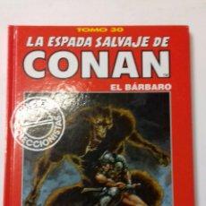 Cómics: LA ESPADA SALVAJE DE CONAN TOMO ROJO 30 EDICIÓN COLECCIONISTAS DE FORUM. Lote 121917919