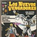 Cómics: LOS NUEVOS VENGADORES - 5 NÚMEROS 21 AL 25 - RETAPADO FORUM - BUEN ESTADO. Lote 121921015