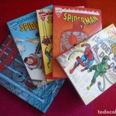 Cómics: SPIDERMAN BIBLIOTECA MARVEL 6, 7, 8, 9, Y 10 ( LEE DITKO ROMITA ) ¡COMO NUEVOS! FORUM EXCELSIOR. Lote 121956479
