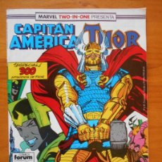 Cómics: CAPITAN AMERICA Nº 64 - MARVEL TWO-IN-ONE THOR - FORUM (S1). Lote 121977667