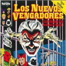 Cómics: LOS NUEVOS VENGADORES VOLUMEN 1 NÚMERO 33 CÓMICS FÓRUM MARVEL. Lote 122008303