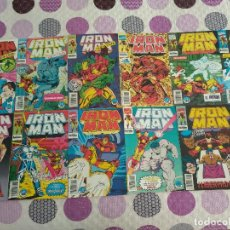 Cómics: IRON MAN VOL.2 FORUM DAVID MICHELINIE BOB LAYTON CASI COMPLETA. Lote 122042591