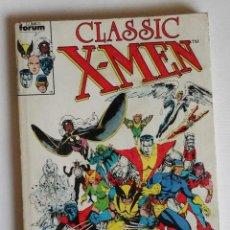 Cómics: CLASSIC X-MEN, RETAPADO CON LOS 5 PRIMEROS NÚMEROS DE LA COLECCIÓN. COCKRUM, BOLTON, ADAMS. Lote 122173095