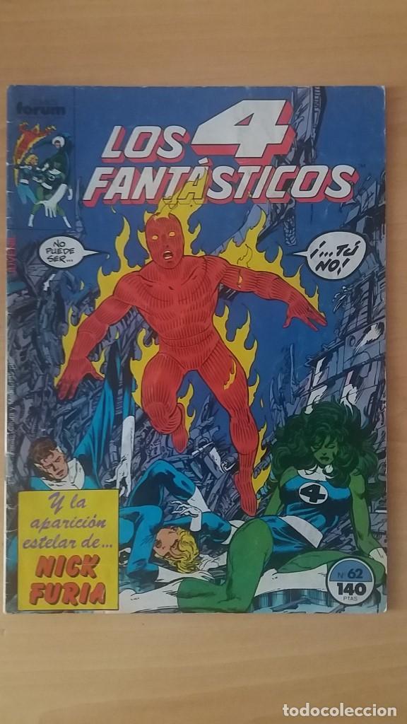 LOS 4 FANTÁSTICOS VOL. 1 Nº 62. FORUM. JOHN BYRNE. (Tebeos y Comics - Forum - 4 Fantásticos)