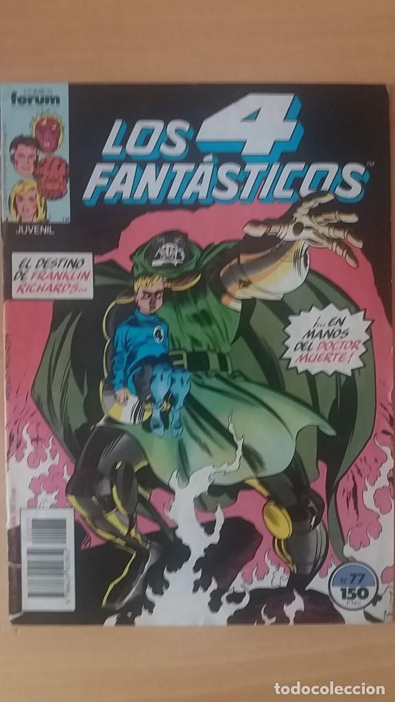 LOS 4 FANTÁSTICOS VOL. 1 Nº 77. FORUM. (Tebeos y Comics - Forum - 4 Fantásticos)