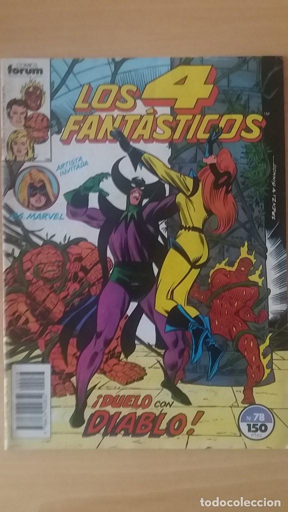 LOS 4 FANTÁSTICOS VOL. 1 Nº 78. FORUM. (Tebeos y Comics - Forum - 4 Fantásticos)