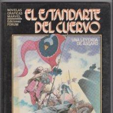 Cómics: NOVELAS GRÁFICAS MARVEL -- Nº 8 EL ESTANDARTE DEL CUERVO , UNA LEYENDA DE ASGARD --. Lote 122283167