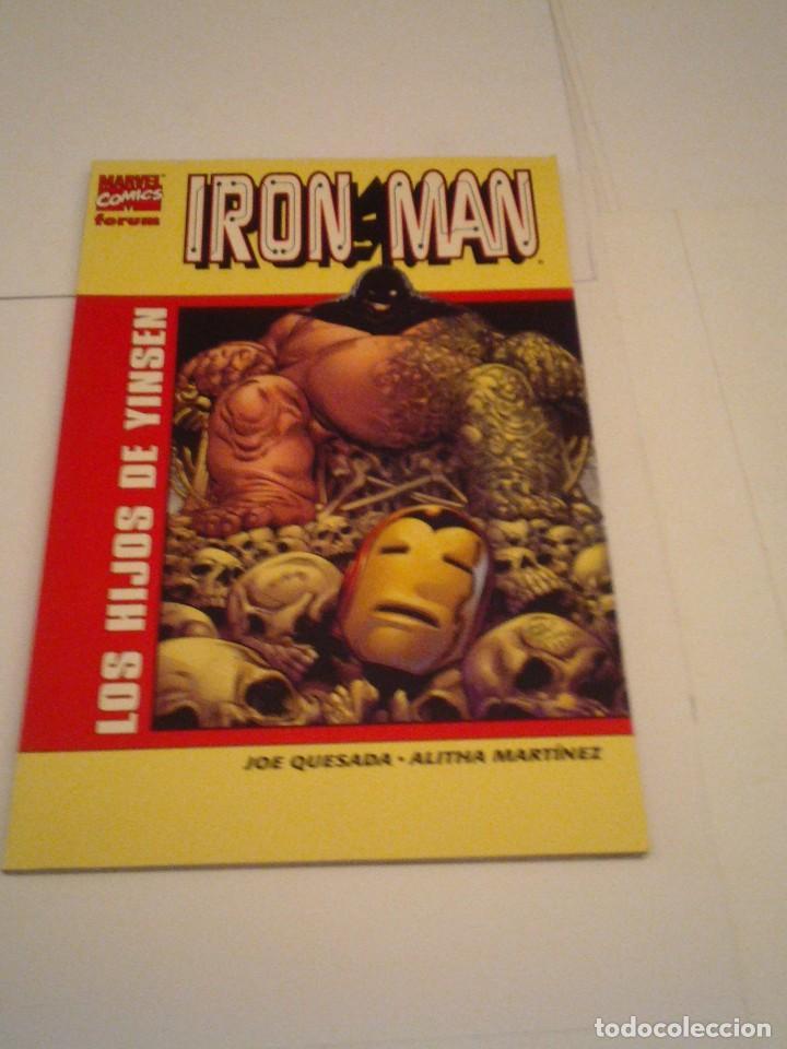 IRON MAN - LOS HIJOS DE YINSEN - FORUM - TOMO - MUY BUEN ESTADO - GORBAUD - CJ 97 (Tebeos y Comics - Forum - Iron Man)