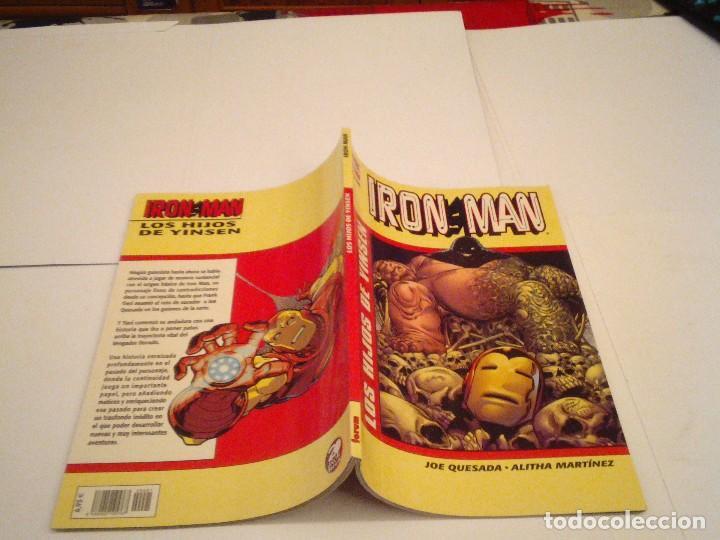 Cómics: IRON MAN - LOS HIJOS DE YINSEN - FORUM - TOMO - MUY BUEN ESTADO - GORBAUD - cj 97 - Foto 2 - 122306691