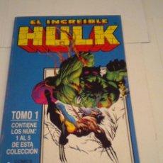 Cómics: HULK - VOLUMEN III - TOMO 1 - CON LOS NUMEROS 1 AL 5 - FORUM - BUEN ESTADO - CJ 97. Lote 122307643