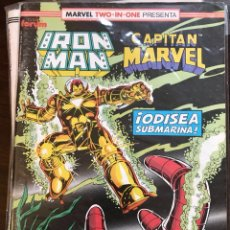 Cómics: MARVEL TWO IN ONE IRON MAN CAPITAN MARVEL 54 FORUM. Lote 122480188