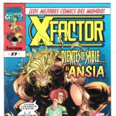 Cómics: COMICS FORUM: X FACTOR VOLUMEN 2 NUMERO 27. Lote 122605151