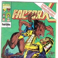 Cómics: COMICS FORUM: FACTOR X NUMERO 82. Lote 122606607