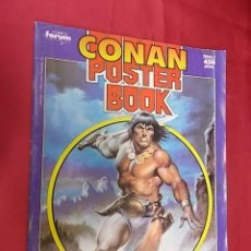 Cómics: CONAN POSTER BOOK. Nº 1. FORUM. Lote 122623699