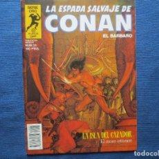 Fumetti: LA ESPADA SALVAJE DE CONAN EL BÁRBARO N.º 25 PRIMERA EDICIÓN - SERIE ORO PLANETA 1984. Lote 122754415