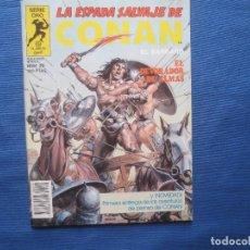 Fumetti: LA ESPADA SALVAJE DE CONAN EL BÁRBARO N.º 29 PRIMERA EDICIÓN - SERIE ORO PLANETA 1984. Lote 122755699