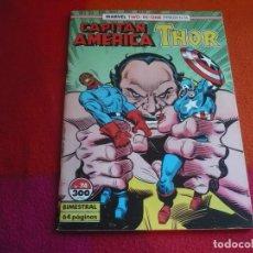 Cómics: CAPITAN AMERICA VOL. 1 Nº 74 ( GRUENWALD ) ¡BUEN ESTADO! FORUM MARVEL TWO IN ONE THOR. Lote 122891727
