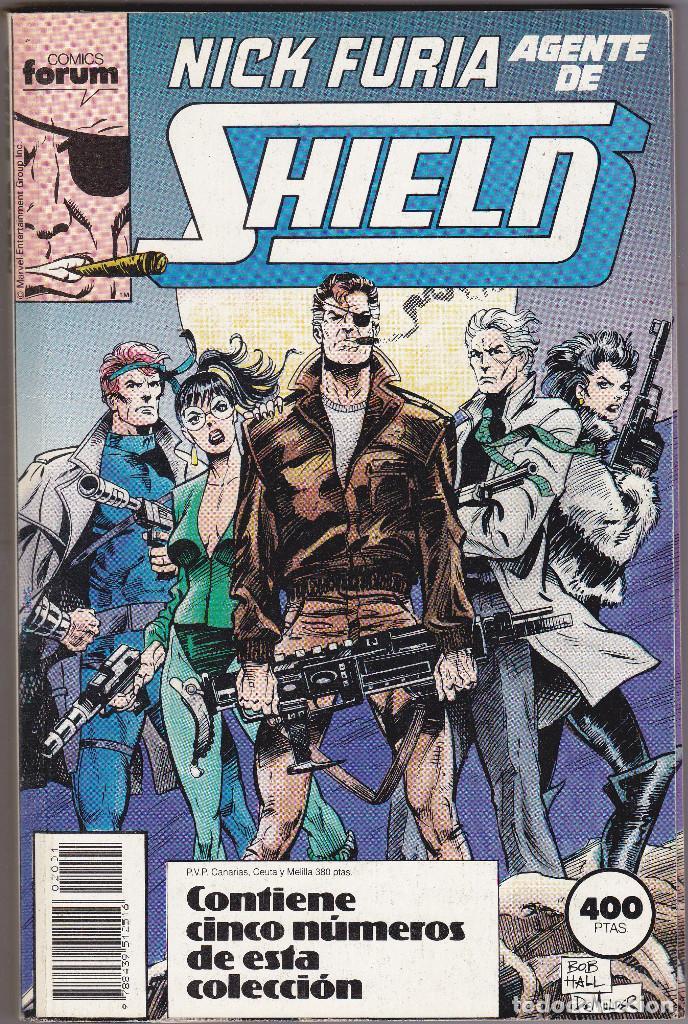 NICK FURIA AGENTE DE SHIELD - 5 NÚMEROS 1 AL 5 - RETAPADO FORUM (Tebeos y Comics - Forum - Furia)