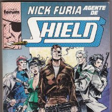Cómics: NICK FURIA AGENTE DE SHIELD - 5 NÚMEROS 1 AL 5 - RETAPADO FORUM . Lote 122932491
