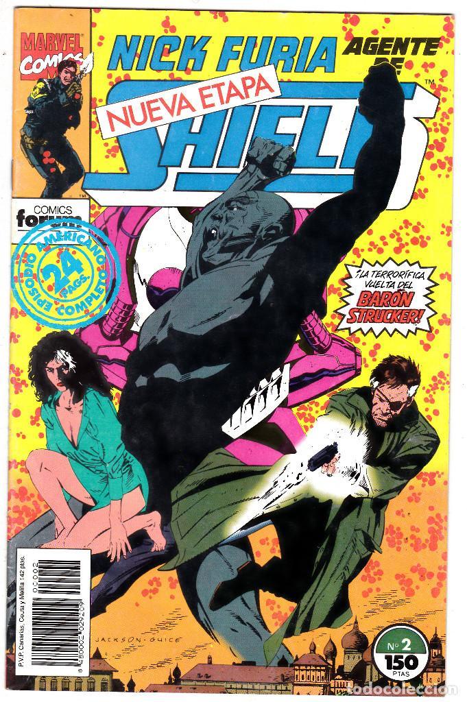 NICK FURIA AGENTE DE SHIELD Nº 2. FORUM. 1992 (Tebeos y Comics - Forum - Furia)