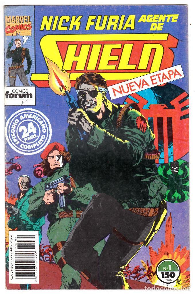 NICK FURIA AGENTE DE SHIELD Nº 1. FORUM. 1992 (Tebeos y Comics - Forum - Furia)