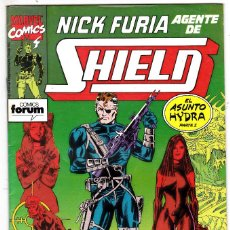 Cómics: NICK FURIA AGENTE DE SHIELD #12 (FORUM, 1990-91) . Lote 122933131