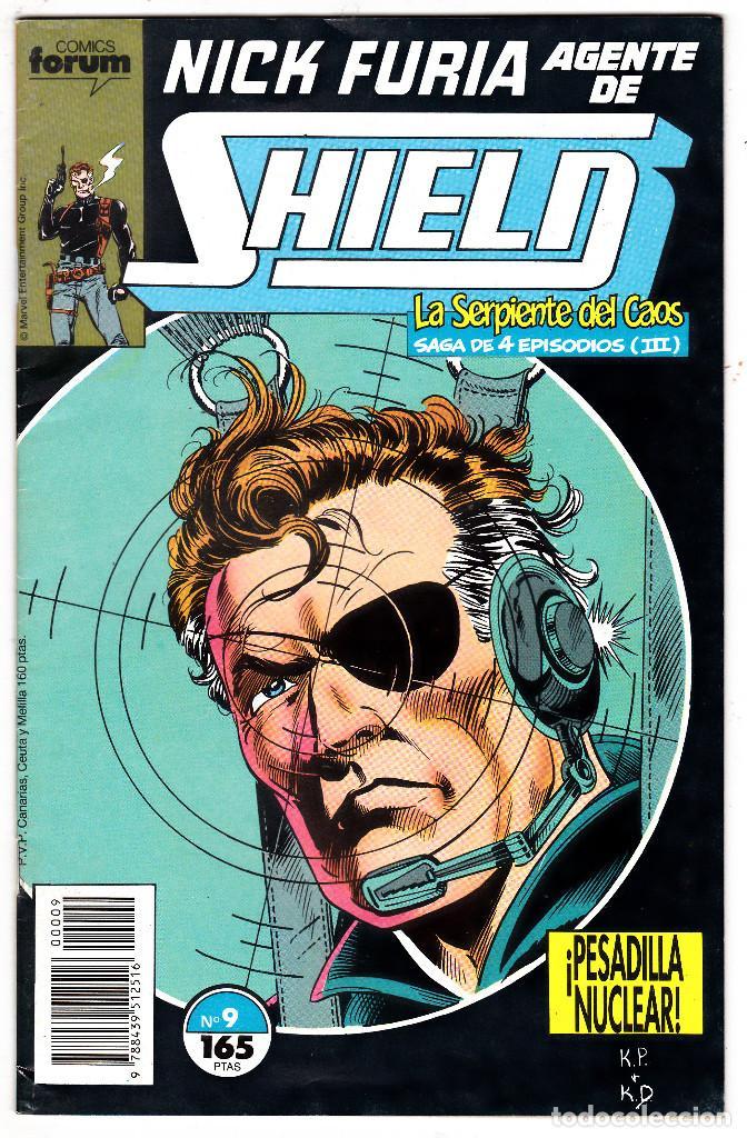 NICK FURIA AGENTE DE SHIELD #9 (FORUM, 1990-91) (Tebeos y Comics - Forum - Furia)