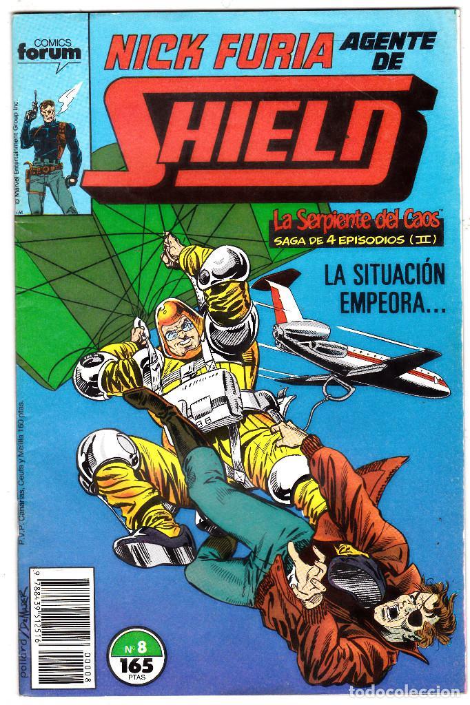 NICK FURIA AGENTE DE SHIELD #8 (FORUM, 1990-91) (Tebeos y Comics - Forum - Furia)