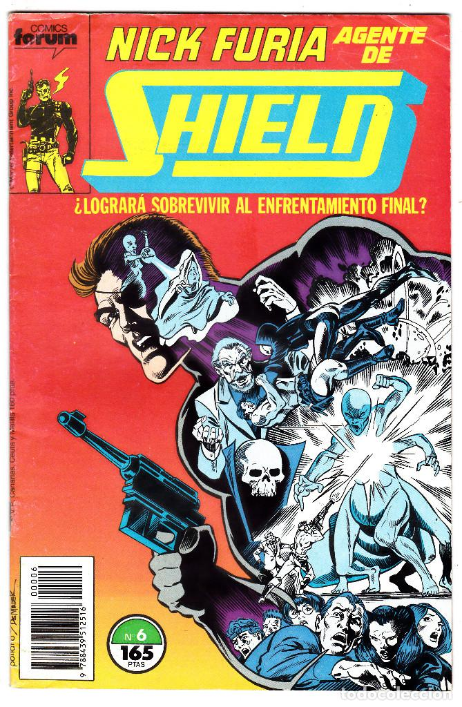 NICK FURIA AGENTE DE SHIELD #6 (FORUM, 1990-91) (Tebeos y Comics - Forum - Furia)