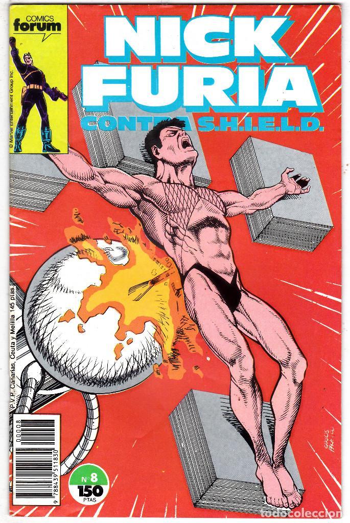 NICK FURIA CONTRA SHIELD #9 (FORUM, 1988) (Tebeos y Comics - Forum - Furia)