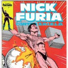 Cómics: NICK FURIA CONTRA SHIELD #9 (FORUM, 1988) . Lote 122933515