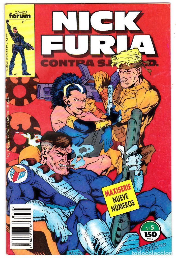 NICK FURIA CONTRA SHIELD #5 (FORUM, 1988) (Tebeos y Comics - Forum - Furia)
