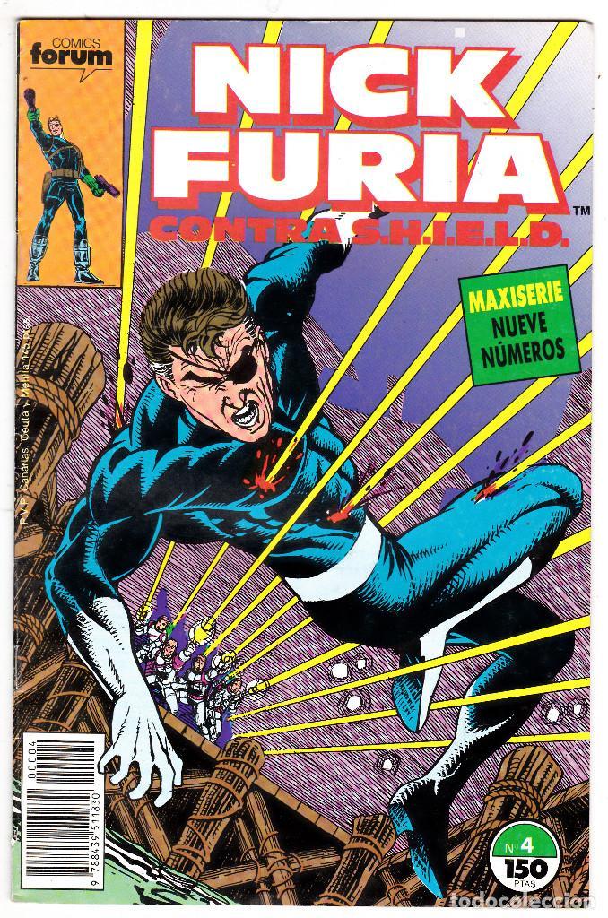 NICK FURIA CONTRA SHIELD #4 (FORUM, 1988) (Tebeos y Comics - Forum - Furia)