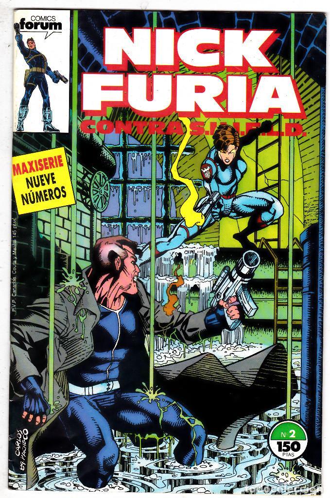 NICK FURIA CONTRA SHIELD #2 (FORUM, 1988) (Tebeos y Comics - Forum - Furia)
