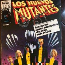Cómics: TOMO RETAPADO LOS NUEVOS MUTANTES 21-25 COMICS FORUM MARVEL. Lote 123071130