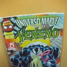 Comics: FORUM 7. UNIVERSO MARVEL. VENENO EL AMIGO MAS SALVAJE DE SPIDERMAN. . Lote 123117907