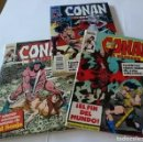 Cómics: LOTE DE 3 COMICS VINTAGE DE CONAN EL BÁRBARO. SON TRES LIBROS QUE CONTIENEN 5 NÚMEROS CADA UNO.. Lote 123354643