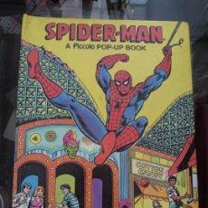 Cómics: SPIDER-MAN. A PICCOLO POP-UP BOOK. 24X17CM. COLOMBIA. 1981. Lote 123373647