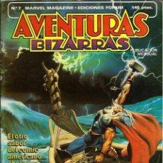 Cómics: AVENTURAS BIZARRAS Nº 7 - THOR - HEROES, MITOS Y DIOSES - FORUM 1984 - RARO - BIEN CONSERVADO. Lote 123524959