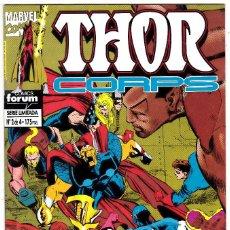 Cómics: THOR CORPS Nº 2 DE 4 COMICS FORUM. Lote 123557603