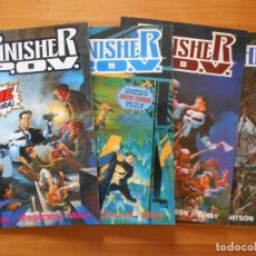 Cómics: PUNISHER P.O.V. LIBROS 1 A 4 - COMPLETA - 4 PRESTIGES - STARLIN - WRIGHTSON - WRAY - FORUM (M1). Lote 123729975