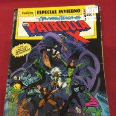 Cómics: LA PATRULLA X ESPECIAL INVIERNO BUEN ESTADO REF.10. Lote 218961110